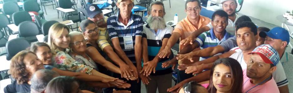 Agricultores participantes de um dos eventos formativos do Programa Desenvolvendo Capacidades