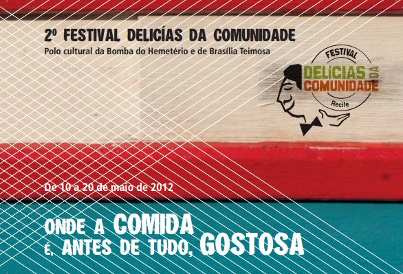 Festival Delícias da Comunidade ganha 2ª edição